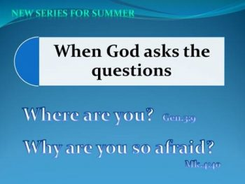 When God Asks the Question